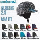 SANDBOX(サンドボックス) CLASSIC 2.0 ASIA FIT メンズヘルメット スケートボード スノーボード つば付きヘルメット