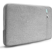 tomtoc 360°保護 耐衝撃 インナーケース 2018 新型 MacBook Air 13インチ Retinaディスプレイ (A1932) | 13インチ New MacBook Pro USB–C搭載 Late 2016 - 2018 (A1989 A1706 A1708) | 13インチ Dell XPS 対応、 13インチ ラップトップ スリーブ ケース 、 アクセサリーポケット付き 、 撥水加工、 グレー