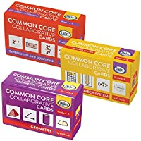 Didax Educational Resources Children's Common Core Grade 6-8 Collaborative Card Set [並行輸入品]