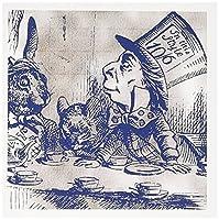 PSヴィンテージ–Mad Hatterビンテージ不思議の国のアリスTea Party–グリーティングカード Set of 12 Greeting Cards