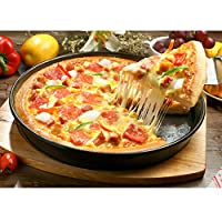 グリルパン 高品質 ピザ焼きトレ ピザパン 9インチ ピザベーク ノンスティック炭素鋼 ピザディスク 硬い金型 グリルパン 高品質 ピザ焼きトレー 家庭用 業務用 …