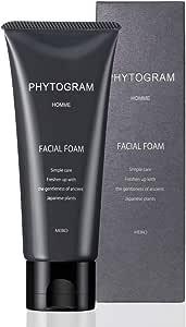 メンズ フェイシャルフォーム 100g ( 男性用 洗顔クリーム 洗顔料 保湿 ナチュラル 植物 日本製 )【 フィトグラム 】