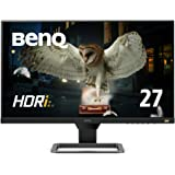 BenQ 27型アイケアモニター EW2780(IPS/フルHD/HDR/高音質スピーカー/5ms/FreeSync/フレームレス/ブルーライト軽減/輝度自動調整B.I.+/HDMI2.0x3)