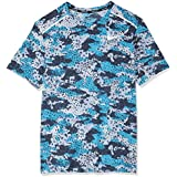 Nike Australia Men's Breathe Rise 365, Light Blue Fury/Reflective Silver, L