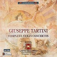 Tartini:Complete Violin Concertos [Federico Guglielmo; Carlo Lazari; L'Arte dell'Arco, Giovanni Guglielmo] [DYNAMIC: CDS7713/1-29] by Federico Guglielmo