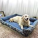 新作店舗 ペット用ベッド マット 犬 猫 ドーム スクエア型 ふかふかハウス 柔らかい ぐっすり眠る クッション かわいい ブルー