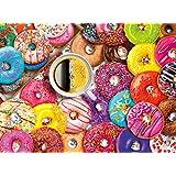 Buffalo Games - Aimee Stewart - Coffee and Donuts - 1000 Piece Jigsaw Puzzle