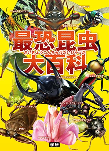 最恐昆虫大百科