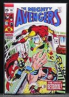 The Avengers # 66コミックブックカバー冷蔵庫マグネット。