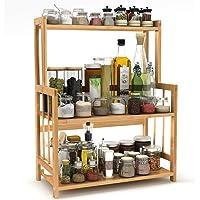 LITTLE TREE キッチンラック 多機能のキッチン収納ラック スパイスラック 調味料収納ラック 台所収納ラック 調…
