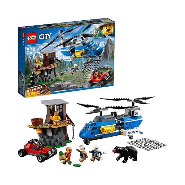 レゴ(LEGO) シティ 山の逮捕劇 60173の商品画像