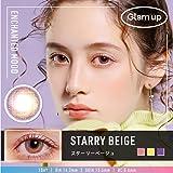 Glam up グラムアップ カラコン Starry beige スターリーベージュ 1day 10枚入り 度あり 度なし (0.00)