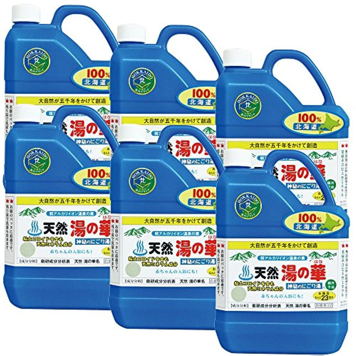 道バルク副詞天然 湯の華 2L 6本セット