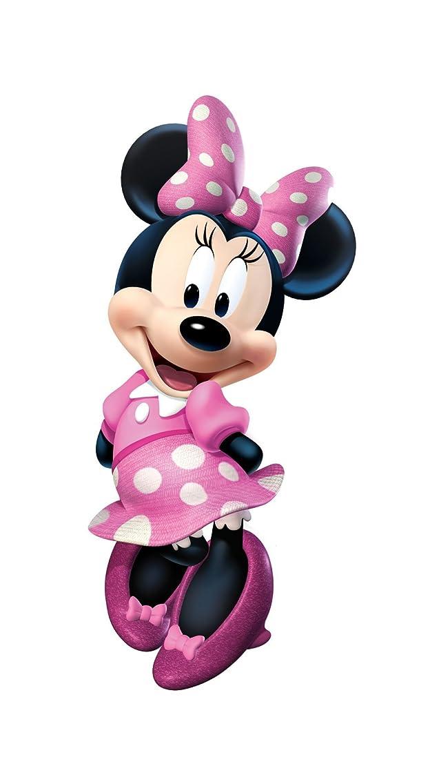 ディズニー ミニーマウス iPhoneSE/5s/5c/5(640×1136)壁紙 画像59145 スマポ