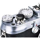 JJC Soft Release Button for Fujifilm Fuji X100V X-T4 X100F X-T30 X-T20 X-T3 X-T2 X-PRO2 XPRO-1 X100T X-E3 X-T10 X100 X100S X-