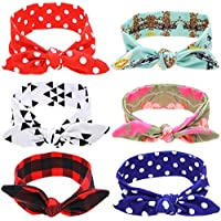 Quest Sweet Baby Girls' Headbands Turban Knotted, Hairbands