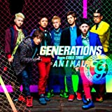 ANIMAL♪GENERATIONS from EXILE TRIBEのCDジャケット