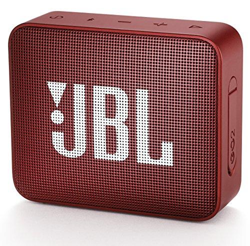 GO2 Bluetoothスピーカー IPX7防水/ポータブル/パッシブラジエーター搭載 レッド JBLGO2RED