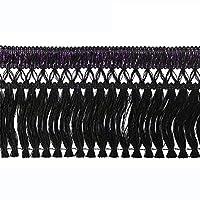 キララフレンジ 2.2m巻 ブラック/パープル 190-1006-BPU