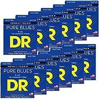 DR エレキ弦 PURE BLUES ニッケル .009-.042 PHR-9 12SET パック