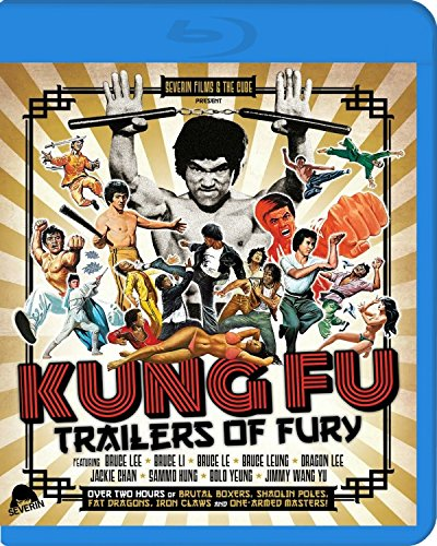 Kung Fu Trailers of Fury [Blu-ray] [Import]