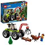 LEGO City Great Vehiclesフォレストトラクター60181建物キット( 174 Piece )