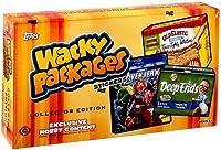 Wacky Packagesすべて新しいシリーズ11ステッカーコレクターエディションボックス[ 2013/趣味]