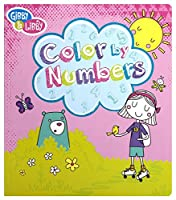 C.R. Gibson Color By Numbers Book for Girls [並行輸入品]