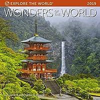 Wonders of The World Wall Calendar 2019 [並行輸入品]