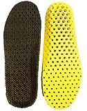 Amazon.co.jpHeal foot 軽量穴空き加工 通気性抜群のクッションインソール 適度な固さ ソフトクッション 低反発 防臭 ランニング ウォーキング スポーツ 立ち仕事 疲労緩和サポート 底の薄い靴などに (M)