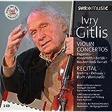 イヴリー・ギトリス(ヴァイオリン) ~協奏曲とリサイタル[2CDs]