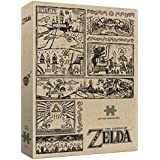 USAopoly Current Edition The Legend of Zelda Legend of The Hero Premium Puzzle (1000 Pc) Board Game