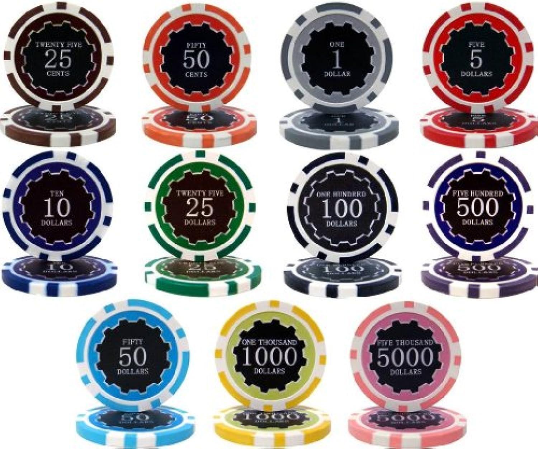 デラックスエクリプス1000個バルク14gmクレイポーカーチップ - チップをお選びください!