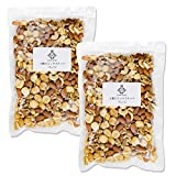 Fruitstock 4種のミックスナッツ (ジャイアントコーン(塩味)40% 素焼きアーモンド 25% くるみ(生)25% 素焼きカシューナッツ 10%) 1kg (500g×2袋)