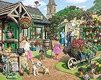 White Mountain Puzzles The Garden Shop - 1000 Piece Jigsaw Puzzle by White Mountain Puzzles