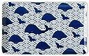 スカンジナビア 大皿 長方形 マリン クジラ 25cmx15.5cm ms-lsq-wh