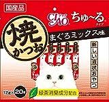チャオ 焼かつお ちゅ〜るタイプ まぐろミックス味 12gx20本