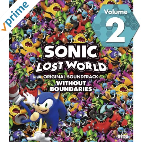 SONIC LOST WORLD ORIGINAL SOUNDTRACK WITHOUT BOUNDARIES Vol. 2