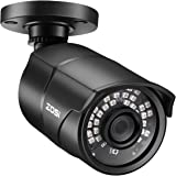 ZOSI 2.0MP HD 1080p 1920TVL Security Camera Outdoor Indoor (Hybrid 4-in-1 HD-CVI/TVI/AHD/960H Analog CVBS),36PCS LEDs,120ft N