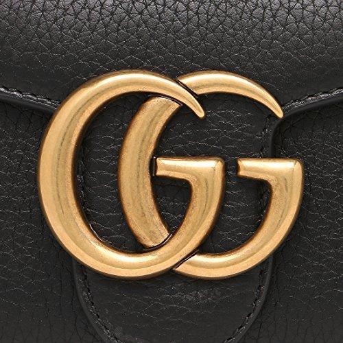 wholesale dealer a7cc2 cb5fe グッチ財布GUCCI 400586 A7M0T 1000 GG MARMONT GGマーモント ...