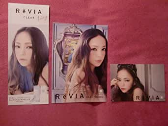安室奈美恵 ポストカード ReVIA 3点