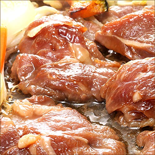 ジンギスカン 肉 味付き ラム肉 7kg (醤油味/冷凍) 業務用 羊肉 BBQ 北海道 じんぎすかん