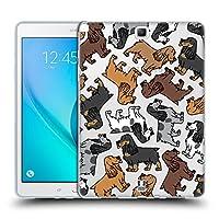 Head Case Designs イングリッシュ・コッカースパニエル ドッグブリード・パターン 10 Samsung Galaxy Tab A 9.7 専用ソフトジェルケース
