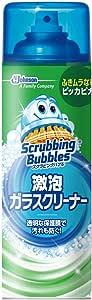 スクラビングバブル ガラス用洗剤 激泡ガラスクリーナー エアゾールタイプ 480ml