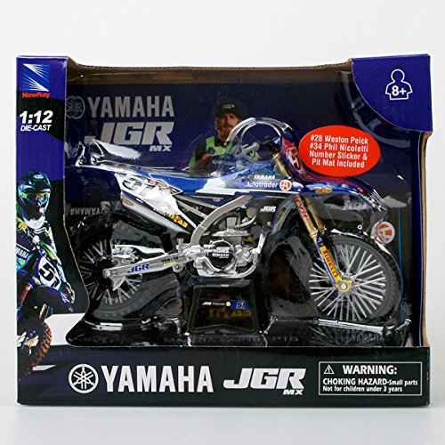 NewRay 1/12 JGRMX Yamaha YZ450 Justin Barcia Bike ジャスティン・バーシア スケールモデル
