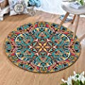 Round Rugs Thin and Light Carpet,for Living Room & Bedroom…