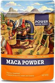 Power Super Foods Cert. Org. Maca Powder (Doy), 500 g