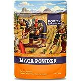 Power Super Foods Organic Origin Series Maca Powder 500 g,, Maca Powder 500 Grams