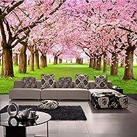 Jason Ming 写真の壁紙3Dステレオカスタム桃の花テレビの壁の背景壁画リビングルームのロビー高Qulity壁紙-250X175Cm