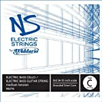D'Addario NS Electric Bass/Cello Single High C String 4/4 Scale Medium Tension [並行輸入品]